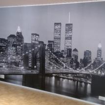 Iso kuva seinälle